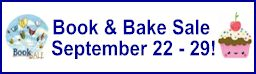book and bake sale donations needed