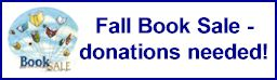 book sale donations needed