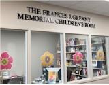 Frances J. Greany Memorial Childrens Room sign