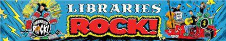 Libraries Rock banner