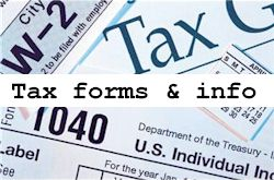 tax forms & resources