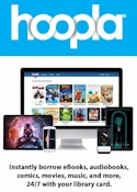 Hoopla books, movies, music & more